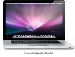 Il MacBook Pro 15